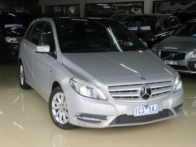 Used Mercedes-Benz B180 246 MY13 BE, 2012 Mercedes-Benz B180 246 MY13 BE Quicksilver 7 Speed Auto Direct Shift Hatchback