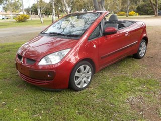 2006 Mitsubishi Colt RZ MY07 Red 5 Speed Manual Cabriolet