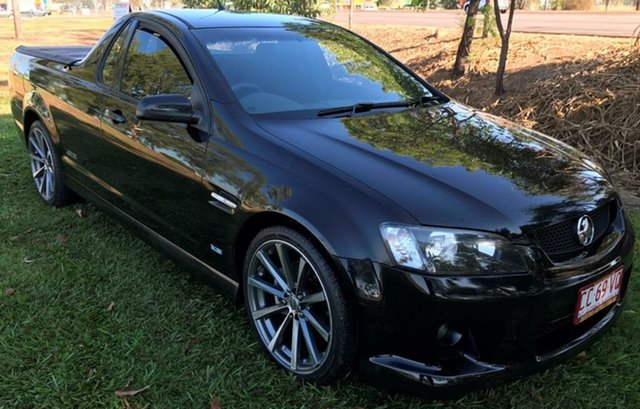 Used Holden Ute VE MY10 SS, 2010 Holden Ute VE MY10 SS Black 6 Speed Manual Utility