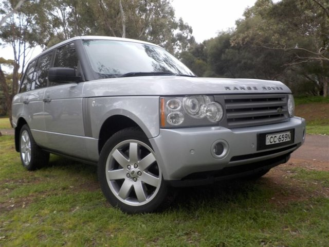 Used Land Rover Range Rover Vogue L322 08MY TDV8, 2008 Land Rover Range Rover Vogue L322 08MY TDV8 Silver 6 Speed Sports Automatic Wagon