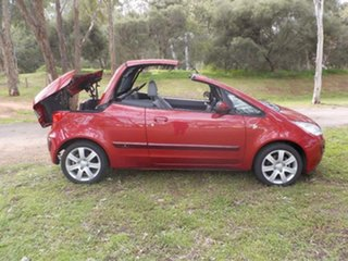 2006 Mitsubishi Colt RZ MY07 Red 5 Speed Manual Cabriolet.
