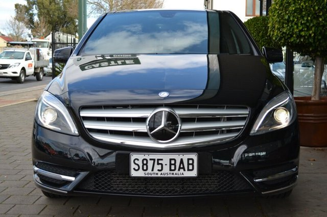 Used Mercedes-Benz B200 W246 DCT, 2013 Mercedes-Benz B200 W246 DCT Black Metallic 7 Speed Sports Automatic Dual Clutch Hatchback