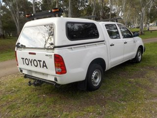2007 Toyota Hilux KUN16R MY07 SR White 5 Speed Manual Utility