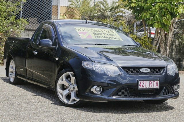 Used Ford Falcon FG MkII XR6 Ute Super Cab, 2011 Ford Falcon FG MkII XR6 Ute Super Cab Black 6 Speed Sports Automatic Utility