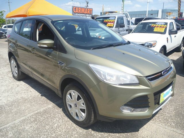 Used Ford Kuga TF Ambiente (AWD), 2014 Ford Kuga TF Ambiente (AWD) Khaki 6 Speed Automatic Wagon