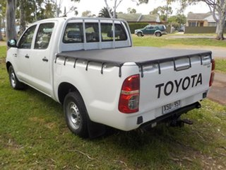 2008 Toyota Hilux TGN16R MY08 Workmate White 5 Speed Manual Utility