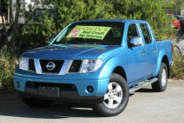 Used Nissan Navara D40 ST-X, 2009 Nissan Navara D40 ST-X Blue 6 Speed Manual Utility