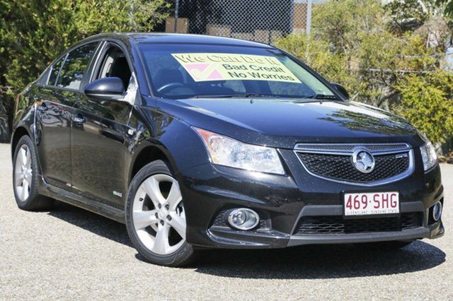 Used Holden Cruze JH Series II MY13 SRi, 2012 Holden Cruze JH Series II MY13 SRi Black 6 Speed Manual Sedan