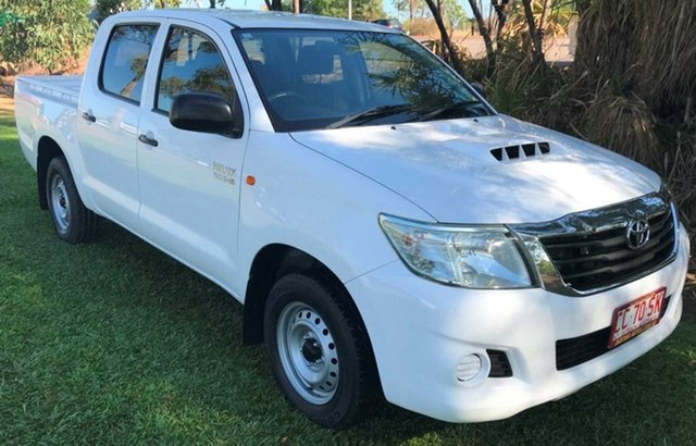 Used Toyota Hilux KUN16R MY10 SR, 2011 Toyota Hilux KUN16R MY10 SR White 5 Speed Manual Utility