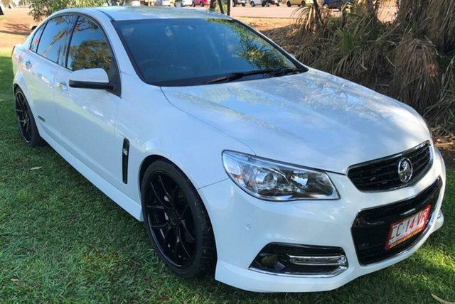 Used Holden Commodore VF MY14 SS V Redline, 2013 Holden Commodore VF MY14 SS V Redline White 6 Speed Manual Sedan