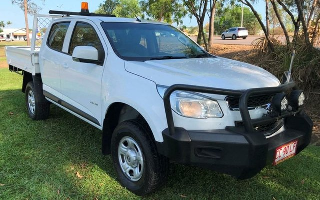 Used Holden Colorado RG MY14 LT Crew Cab, 2014 Holden Colorado RG MY14 LT Crew Cab White 6 Speed Sports Automatic Utility