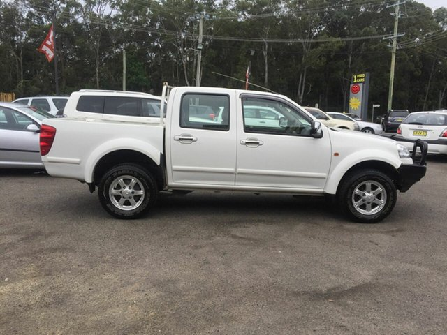 Used Great Wall V200 MY14 , 2014 Great Wall V200 MY14 4x2 diesel tdi White 6 Speed Manual Dual Cab
