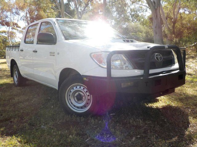 Used Toyota Hilux KUN16R MY08 SR, 2007 Toyota Hilux KUN16R MY08 SR 5 Speed Manual Utility
