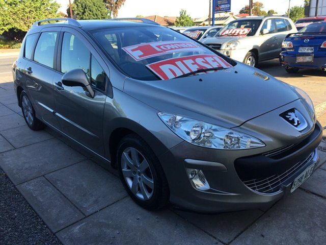 Used Peugeot 308 T7 XSE HDi Touring, 2011 Peugeot 308 T7 XSE HDi Touring Vapour Grey 6 Speed Sports Automatic Wagon