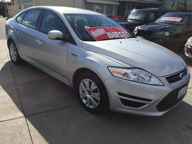 Used Ford Mondeo MC LX PwrShift TDCi, 2013 Ford Mondeo MC LX PwrShift TDCi Moondust Silver 6 Speed Sports Automatic Dual Clutch Hatchback