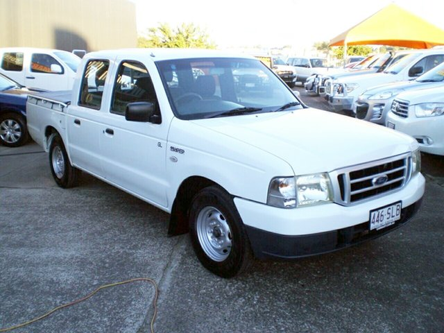 Used Ford Courier PH GL, 2005 Ford Courier PH GL White 4 Speed Automatic Crew Cab Pickup