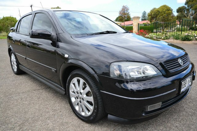 Used Holden Astra TS CDX, 2003 Holden Astra TS CDX Black 5 Speed Automatic Hatchback