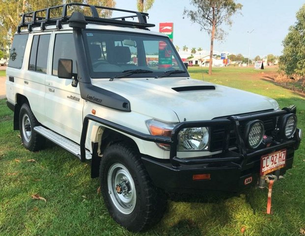 Used Toyota Landcruiser VDJ76R Workmate, 2016 Toyota Landcruiser VDJ76R Workmate White 5 Speed Manual Wagon