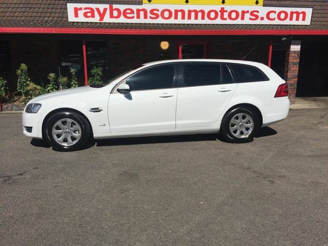 Used Holden Commodore  , 2013 Holden Commodore White 6 Speed Sports Automatic Wagon