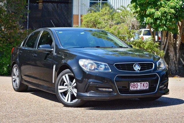 Used Holden Commodore VF MY14 SV6, 2013 Holden Commodore VF MY14 SV6 Black 6 Speed Manual Sedan