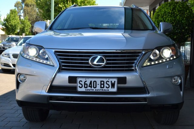 Used Lexus RX350 GGL15R Luxury, 2014 Lexus RX350 GGL15R Luxury Silver Metallic 6 Speed Sports Automatic Wagon