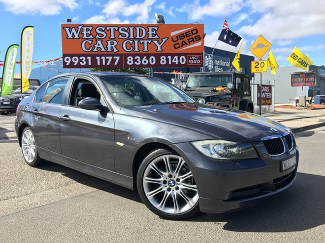 Used BMW 320i E90 08 Upgrade Executive, 2008 BMW 320i E90 08 Upgrade Executive Grey 6 Speed Auto Steptronic Sedan