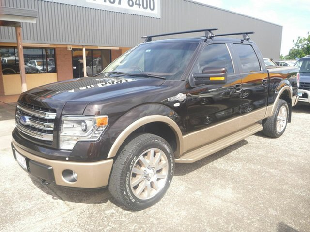 Used Ford F150  , 2013 Ford F150 King Ranch Black Dual Cab