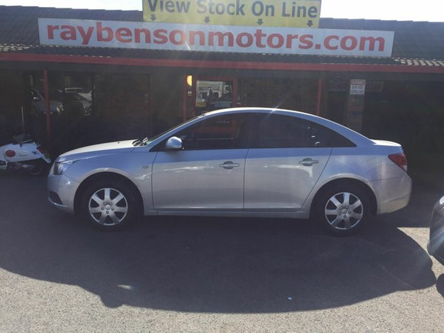 Used Holden Cruze  CD, 2009 Holden Cruze CD Silver 4 Speed Automatic Sedan