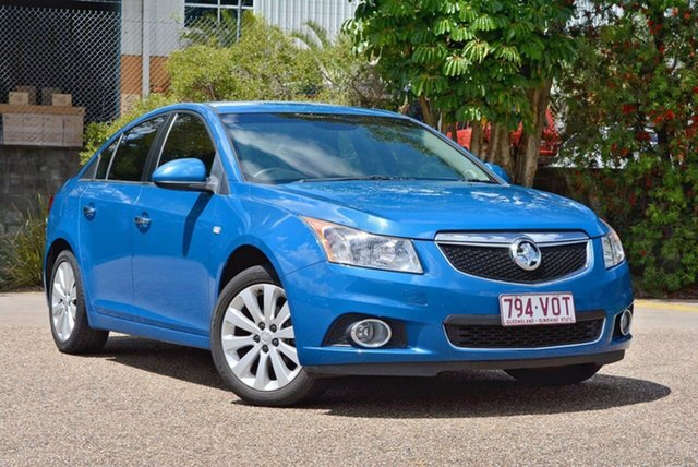 Used Holden Cruze JH Series II MY13 CDX, 2013 Holden Cruze JH Series II MY13 CDX Blue 6 Speed Sports Automatic Sedan