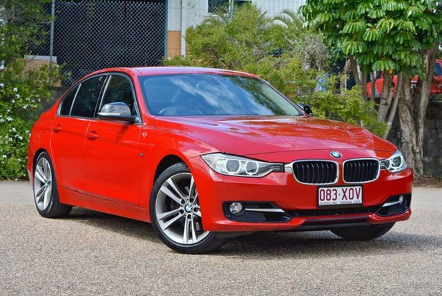 Used BMW 328I F30 MY0812 , 2012 BMW 328I F30 MY0812 Red 8 Speed Sports Automatic Sedan