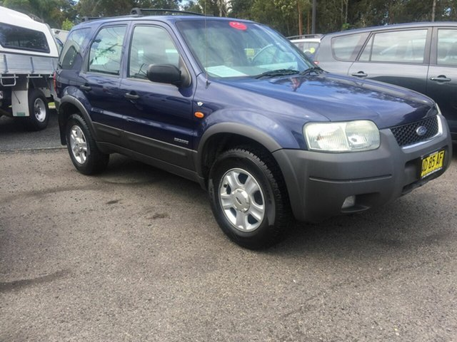 Used Ford Escape  , 2002 Ford Escape XLT ba Blue 4 Speed Automatic Wagon