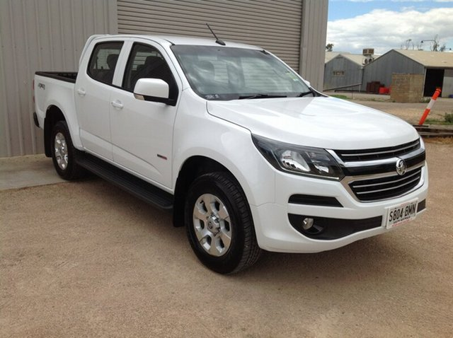 Used Holden Colorado RG MY17 LT (4x4), 2016 Holden Colorado RG MY17 LT (4x4) White 6 Speed Automatic Crew Cab Pickup