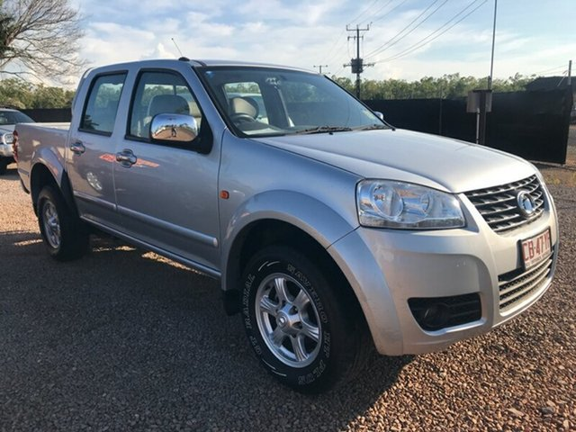 Used Great Wall V200 K2 MY14 , 2014 Great Wall V200 K2 MY14 Silver 6 Speed Manual Utility