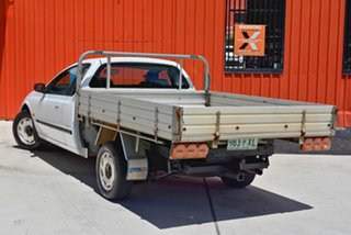 2000 Ford Falcon AU II XL Super Cab White 4 Speed Automatic Cab Chassis.