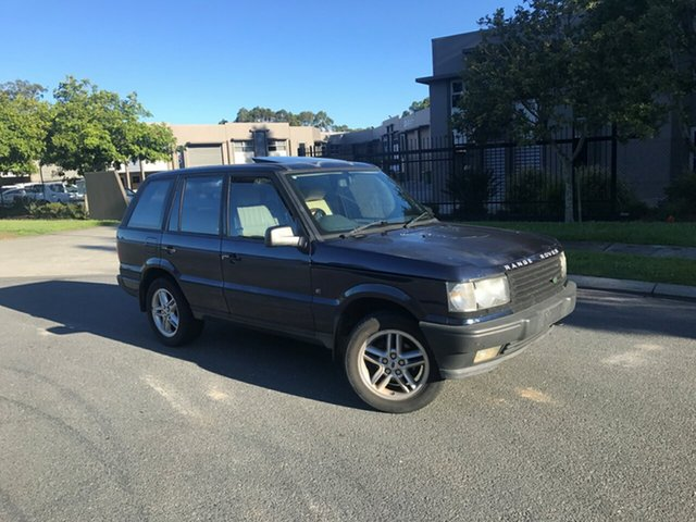 Used Land Rover Range Rover P38A , 2000 Land Rover Range Rover P38A Blue 4 Speed Automatic Wagon