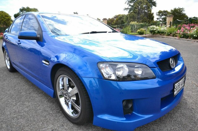 Used Holden Commodore VE SV6, 2009 Holden Commodore VE SV6 Blue 5 Speed Automatic Sedan
