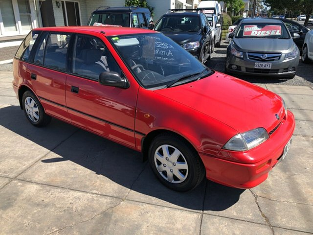 Used Holden Barina MH , 1993 Holden Barina MH Red 3 Speed Automatic Hatchback