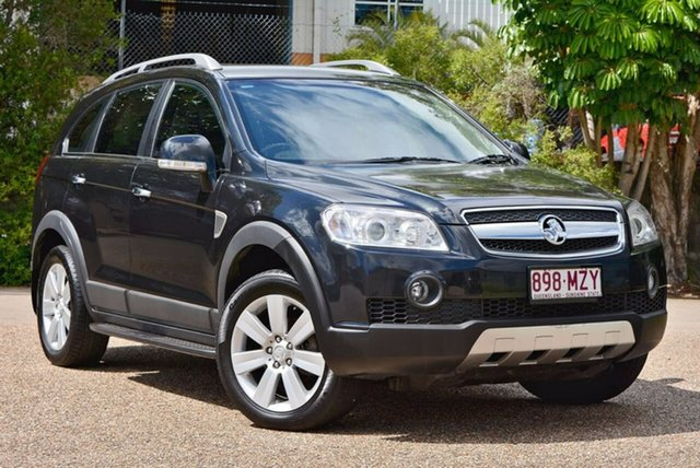 Used Holden Captiva CG MY10 LX AWD, 2010 Holden Captiva CG MY10 LX AWD Black 5 Speed Sports Automatic Wagon