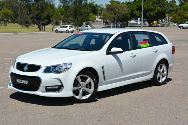 Used Holden Commodore VF II MY16 SV6 Sportwagon, 2015 Holden Commodore VF II MY16 SV6 Sportwagon White 6 Speed Sports Automatic Wagon