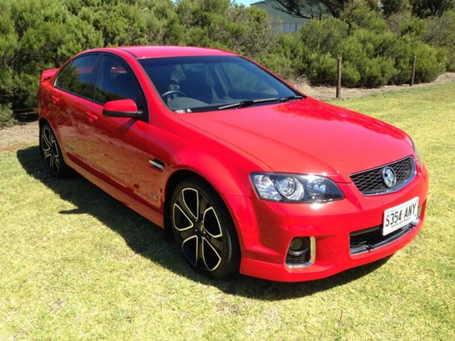 Used Holden Commodore VE II MY12 SS-V, 2012 Holden Commodore VE II MY12 SS-V Red Hot 6 Speed Manual Sedan