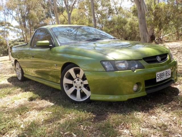Used Holden Ute VY SS, 2003 Holden Ute VY SS Hot House Green 4 Speed Automatic Utility