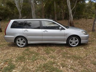 2004 Mitsubishi Lancer CH MY05 VR-X Silver 4 Speed Sports Automatic Wagon
