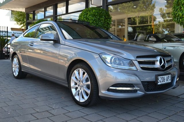 Used Mercedes-Benz C180 C204 BlueEFFICIENCY 7G-Tronic +, 2012 Mercedes-Benz C180 C204 BlueEFFICIENCY 7G-Tronic + Grey Metallic 7 Speed Sports Automatic Coupe