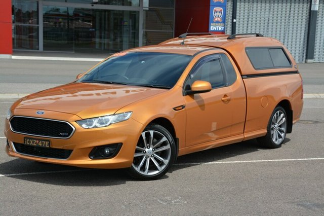 Used Ford Falcon FG X XR6 Ute Super Cab, 2015 Ford Falcon FG X XR6 Ute Super Cab Gold 6 Speed Sports Automatic Utility