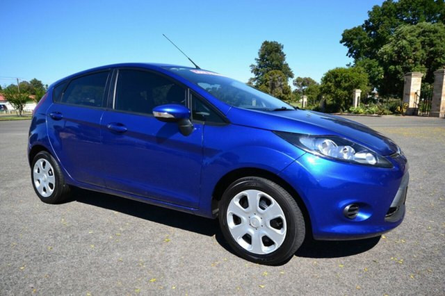 Used Ford Fiesta WT CL, 2011 Ford Fiesta WT CL Blue 5 Speed Manual Hatchback