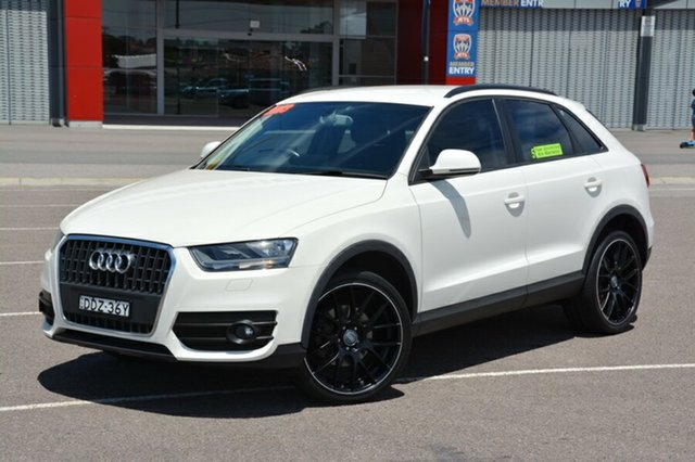 Used Audi Q3 8U MY13 TFSI S tronic quattro, 2012 Audi Q3 8U MY13 TFSI S tronic quattro White 7 Speed Sports Automatic Dual Clutch Wagon