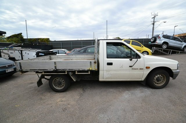 Used Holden Rodeo TF G6 LX, 1996 Holden Rodeo TF G6 LX White 4 Speed Automated Utility