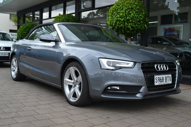 Used Audi A5 8T MY12 Multitronic, 2012 Audi A5 8T MY12 Multitronic Grey Metallic 8 Speed Constant Variable Cabriolet