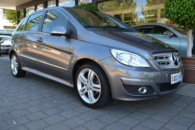Used Mercedes-Benz B180 W245 MY11 , 2011 Mercedes-Benz B180 W245 MY11 Grey Metallic 1 Speed Constant Variable Hatchback