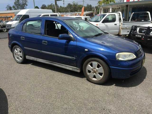 Used Holden Astra CD , 2001 Holden Astra CD Blue 4 Speed Automatic Hatchback